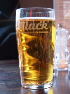 Mack Pilsner in all its glory