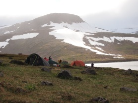 The campsite at Botn