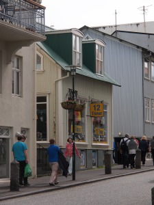 The 12 Tonar shop in Reykjavik